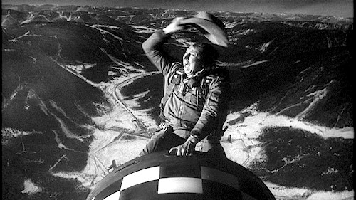 Final scene from Dr Srangelove