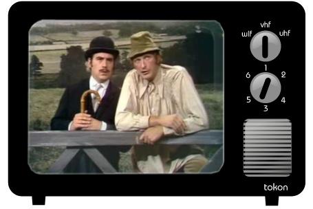 Still from Monty Python flying sheep sketch