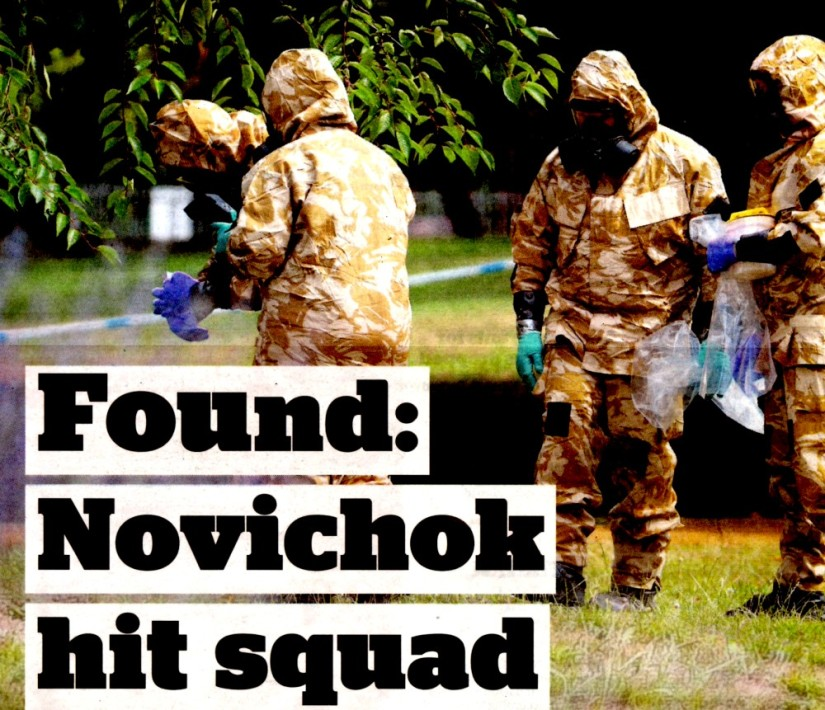 The Independent celebrates quality of UK reporting on #Novichok case with inept photoshopped coverpic